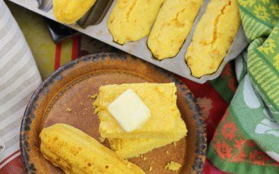 Sweet Buttery Cornbread