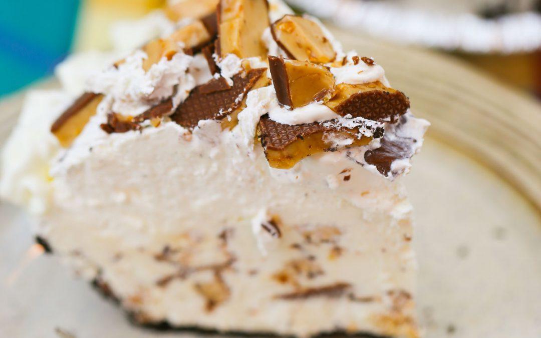 Heath Bar Freezer Pie